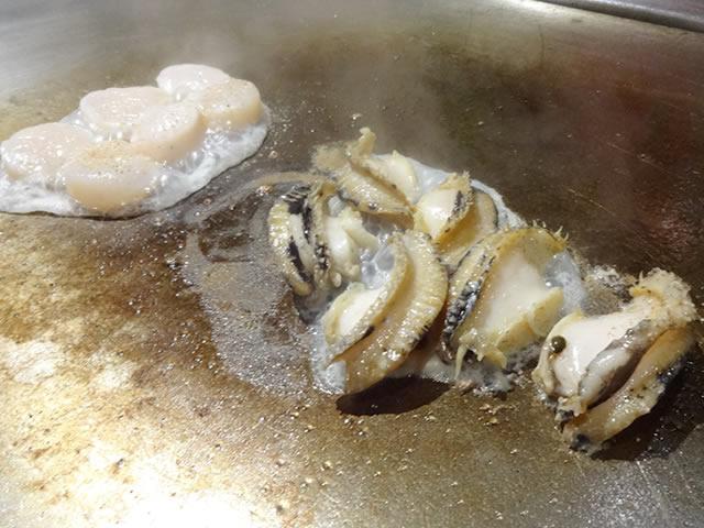 三宮神戸牛鉄板焼きアントコレットディナー写真10