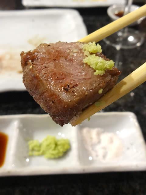 三宮神戸牛鉄板焼きアントコレットディナー写真27