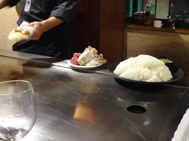 三宮神戸牛鉄板焼きアントコレットディナー写真28