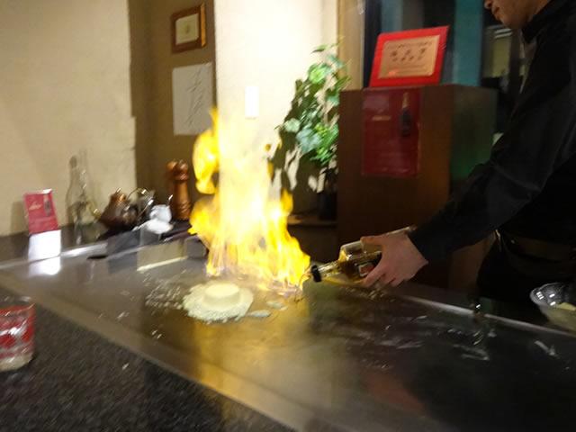 三宮神戸牛鉄板焼きアントコレットディナー写真35