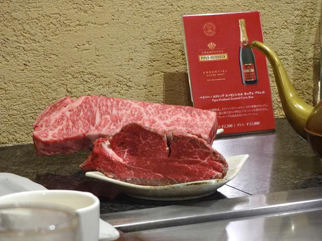 三宮神戸牛鉄板焼きアントコレットディナー写真8