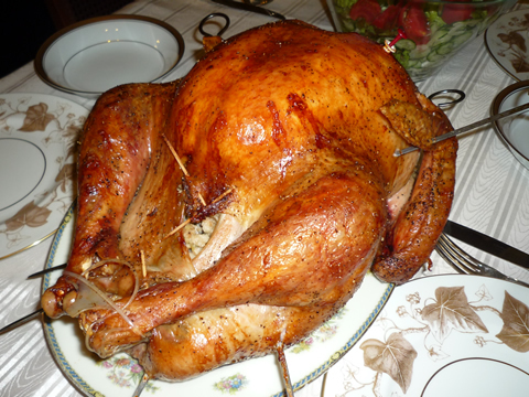 コストコターキークリスマスレシピ(七面鳥焼き方)o0480036010546318543